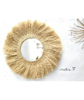 Miroir ethnique fibres SOLFYS