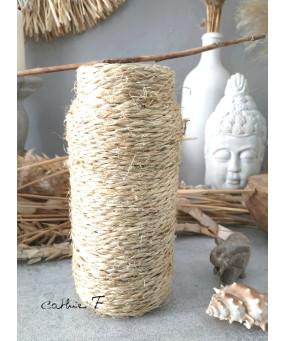 Vase corde DROIT