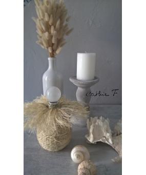 Petie lampe boule ethnique...