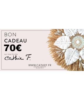 Bon Cadeau 70€