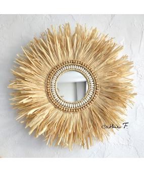 Miroir Ethnique Raphia...