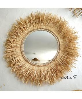 Grand miroir ethnique...