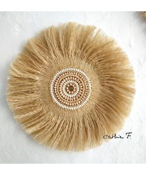 Juju hat en fibres décoré...