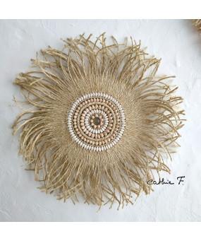 Juju hat en corde décoré...