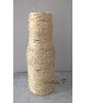 Vase bouteille corde LUCILLE