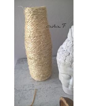Vase Bouteille Corde CLARA
