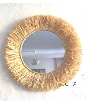 Grand miroir RAPHIA